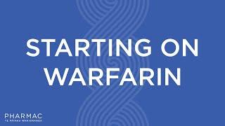 PHARMAC - Starting on Warfarin