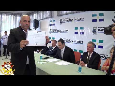 Diplomação do Prefeito Eleito Arizinho e Vereadores Eleitos de São Lourenço da Serra