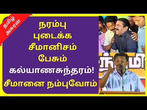 NTK Member Kalyanasundaram Speech on Seeman and Seemanism | TAMIL ASURAN