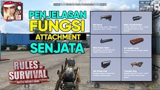 Gambar cover Rules of Survival Indonesia: Fungsi Compensator, Flash Hider, dan Attachment Lainnya!