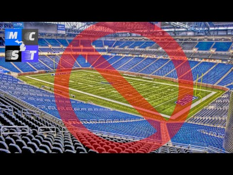 No Fans Allowed For Atleast First 2 Detroit Lions Home Games (Bears & Saints)!!!