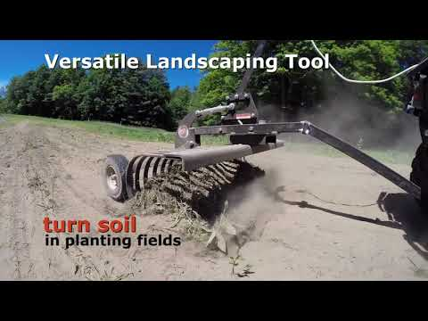 2021 DR Power Equipment DR ATV Landscape Rake in Walsh, Colorado - Video 1