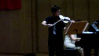 Adnan Saygun Horon-Violinist Fahrettin Arda
