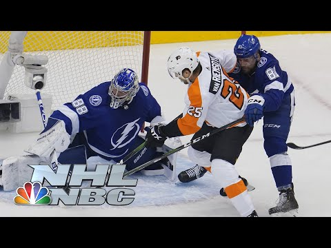 NHL Stanley Cup Round Robin: Flyers vs. Lightning | EXTENDED HIGHLIGHTS | NBC Sports