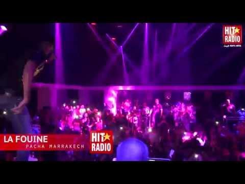 Live de La Fouine au Pacha Marrakech avec HIT RADIO - 2014