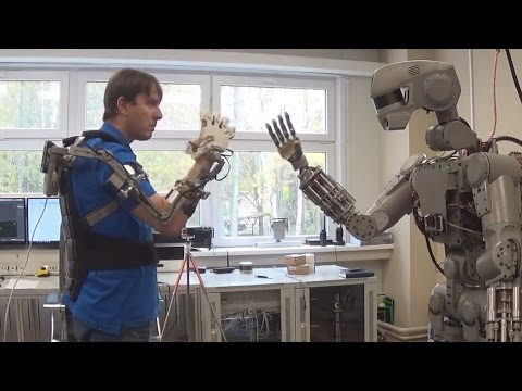 Development of the Russian DARPA: humanoid robot FEDOR [footage of the testing of the robot]