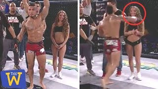 10 Unexpected MMA Moments You Weren't Supposed To See