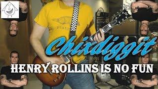 Chixdiggit - Henry Rollins Is No Fun - Guitar Cover (Tab in description!)