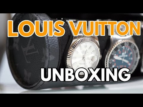 Mein neues LOUIS VUITTON Uhrenetui  - Unboxing und Vorstellung