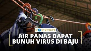 Peneliti Sarankan Cuci Pakaian dengan Air Panas dan Deterjen untuk Membunuh Virus