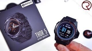 Zeblaze Thor 5 - Dual Mode Smart Watch - Unboxing & Hands On