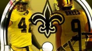 New Orleans Saints - When the Saints Go Marching In - Louis Armstrong