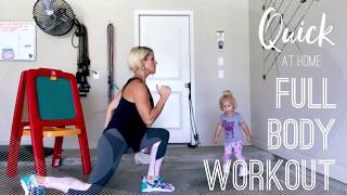 Quick At-Home Full-Body Workout