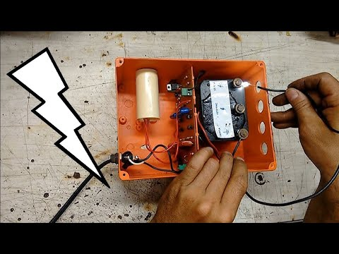 Electrificador De Cercas Para Ganado (Como lo podemos fabricar)