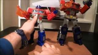 MP01 Vs MP10 Optimus Prime