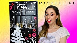 Maybelline Advent Calendar 2019  (Do You Need This?)