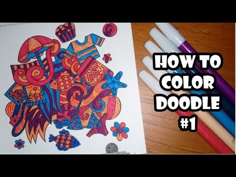 Tutorial Mewarnai Pohon Menggunakan Crayon How To Color Trees With
