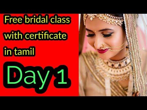 Tamil Free bridal class/Day 1