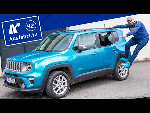 2021 Jeep Renegade 1.3 T-GDI PHEV Limited 4xe AT6 - Kaufberatung, Test deutsch, Review, Fahrbericht