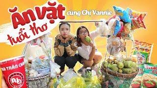 FOOD TOUR ĂN VẶT TUỔI THƠ   TRỞ VỀ QUÁ KHỨ CÙNG CHỊ VANNIE   CHILDHOOD STREET FOOD   THÁNH ĂN TV