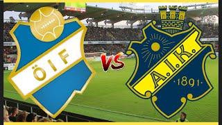 AIK MOT CUPEN GULD   ÖSTER - AIK   KVARTSFINAL!!