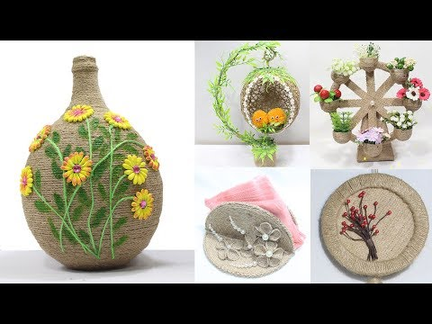 Home Decorating Ideas Jute Craft Handmade Easy Meesho