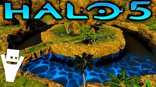 SPEED JUMP | Halo 5 Forge Minigame Gameplay - Greenskull