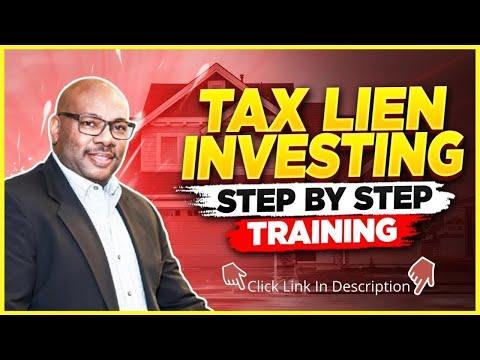 Tax Lien Investing - Danielle Pierce - Step by Step Training ...