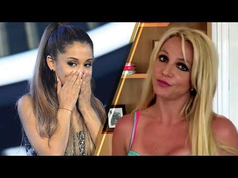 OOPS! Britney Spears MISTAKES Selena Gomez for Ariana Grande