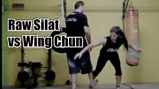 Wing Chun Vs Raw Silat   How Effective Are Applications Of Wooden Dummy In Fighting!?