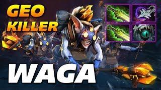WAGA MEEPO GEO KILLER - Dota 2 Pro Gameplay