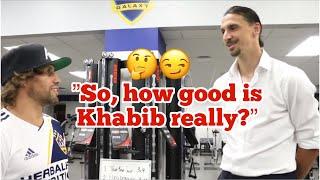 Zlatan Asks Urijah How Good Khabib Really Is 🤔🙃