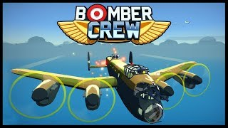 Bomber Crew - COMMAND A BOMBER CREW! Night Raid On An Airfield! - Bomber Crew Gameplay