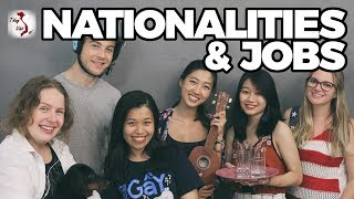 How To Tell Your Nationality & Job in Vietnamese