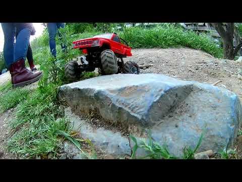 ***BASH IN DA HOOD*** Mini Rock Crawler #HBX2098B Devastator 1/24 Scale