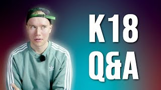 K-18 Q&A: Oletko tinderissä? Paljon tienaat? Haluatko lapsia?