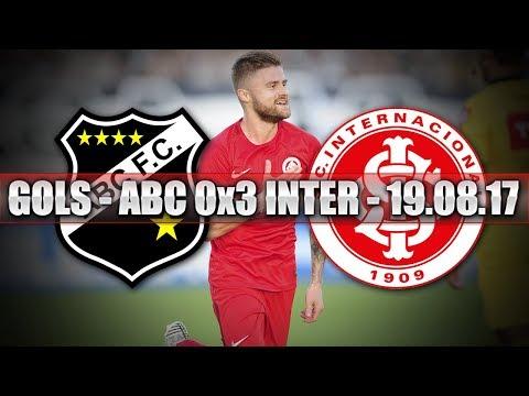 GOLS - ABC 0x3 INTERNACIONAL - 19.08.17