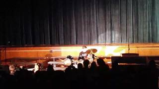 Joe at Martha brown 2107 talent show doing polarize by 21 pilots