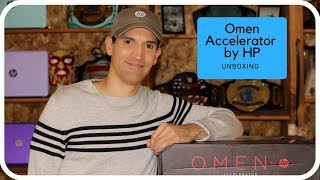 Unboxing the Omen Accelerator by HP
