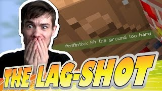 THE LAG-SHOT !! -|- Minecraft xbox - Skywars