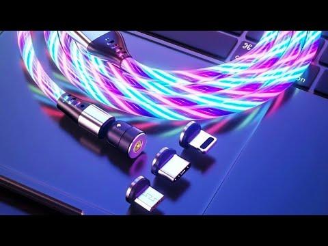 Магнитные кабеля зарядки AUFU / Magnetic charging cables AUFU
