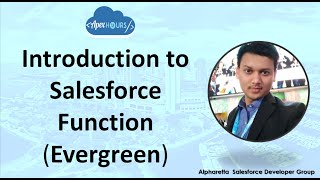Introduction to Salesforce Function | Evergreen