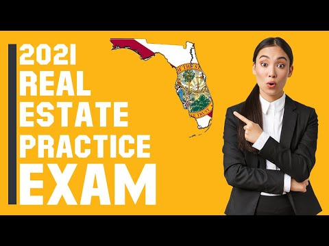 Florida Real Estate Exam 2021 (60 Questions with Explained ...