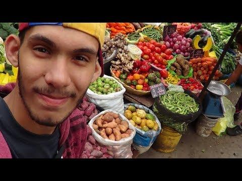Haciendo mi primer Mercado en Perú S/90 (27$)