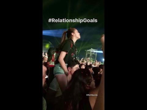 Alden Richards & Maine Mendoza at Coldplay Manila Concert ❤ Relationship Goals ❤