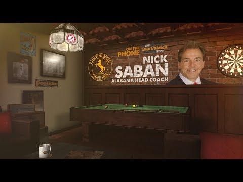 Alabama Head Coach Nick Saban on The Dan Patrick Show   Full Interview   8/21/17