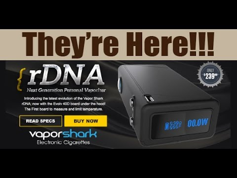vaporshark rdna40 40watt box mod