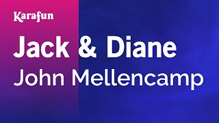 Karaoke Jack And Diane - John Mellencamp *