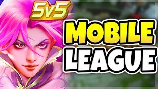 THIS MOBILE GAME IS WAY TOO FUN! LEAGUE OF LEGENDS FOR MOBILE DEVICES! (AMAZING)