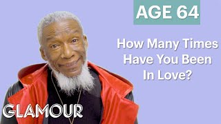 70 Men Ages 5 to 75: How Many Times Have You Been in Love? | Glamour